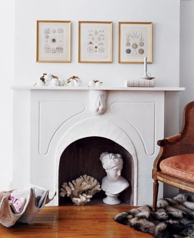 Spring Mantel Decorating Ideas For Fireplace In Living Room 24