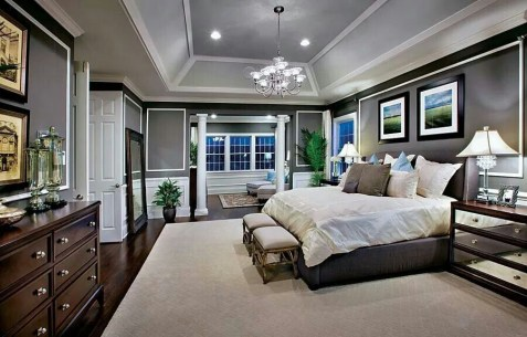 Stylish And Elegant Master Bedroom Idea For Your Family 16
