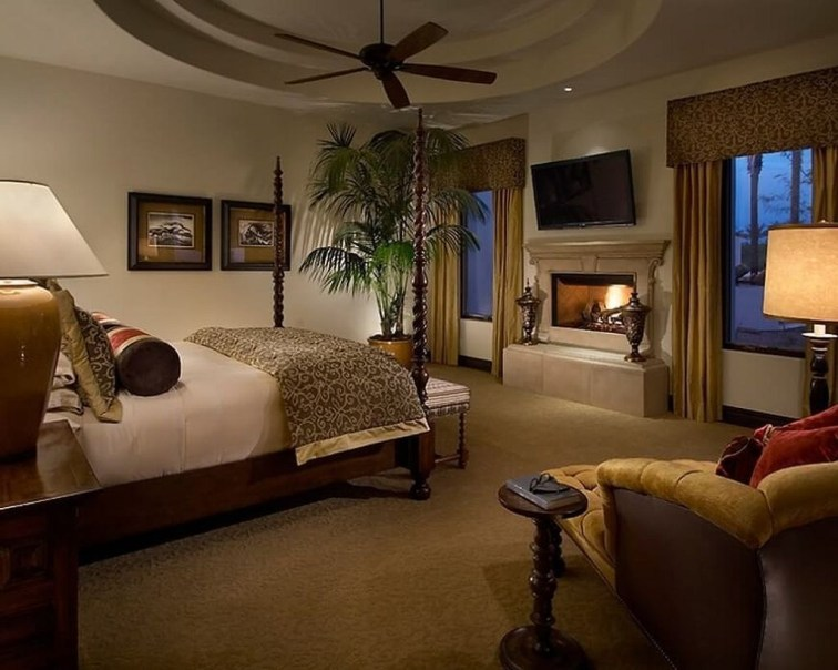 Stylish And Elegant Master Bedroom Idea For Your Family 31