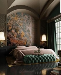 Stylish And Elegant Master Bedroom Idea For Your Family 32