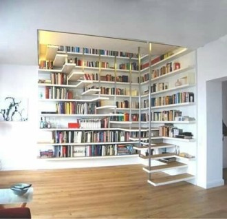 Amazing DIY Bookshelves You Can Do 11