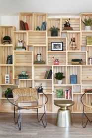 Amazing DIY Bookshelves You Can Do 20