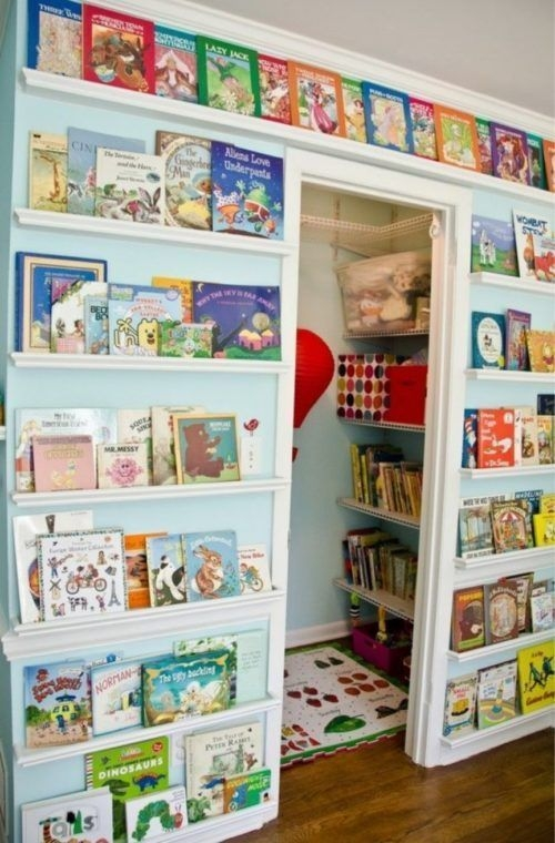 Amazing DIY Bookshelves You Can Do 27