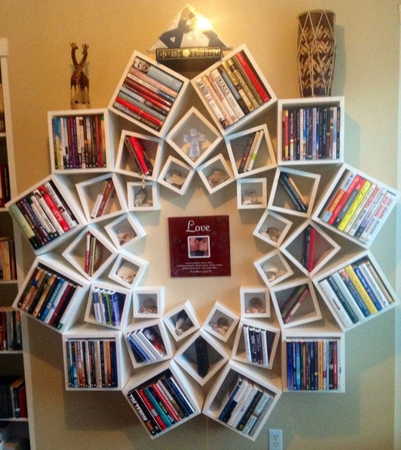 Amazing DIY Bookshelves You Can Do 29
