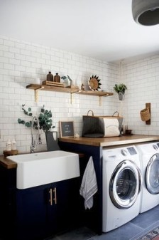 Amazing Small Laundry Room Design You Can Do 21