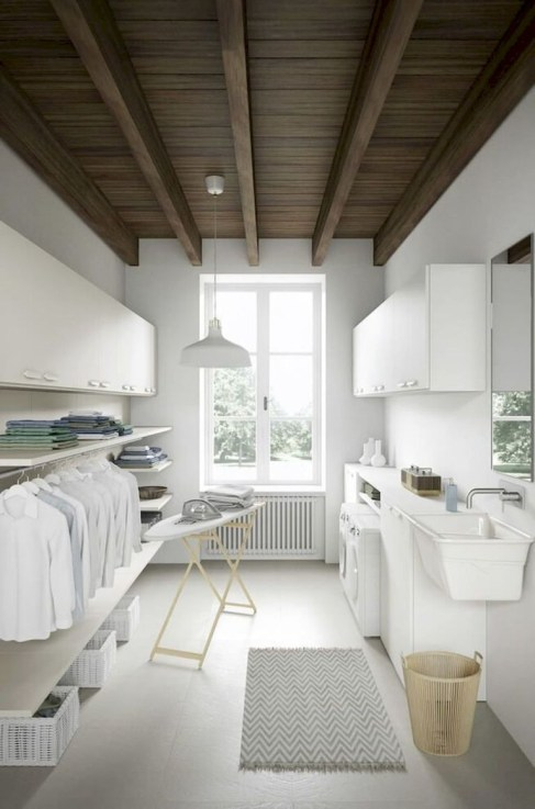 Amazing Small Laundry Room Design You Can Do 22
