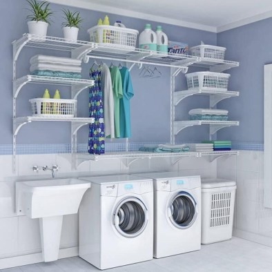 Amazing Small Laundry Room Design You Can Do 27