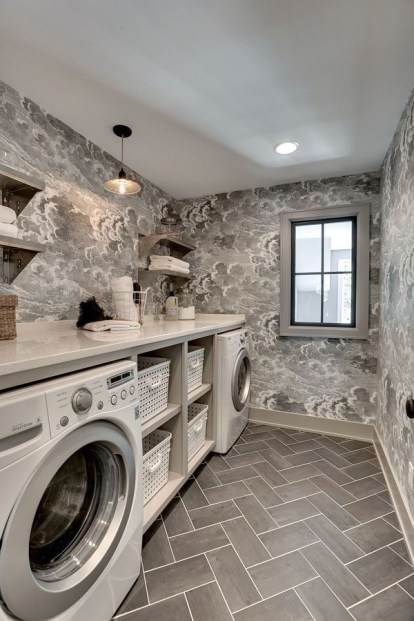 Amazing Small Laundry Room Design You Can Do 33