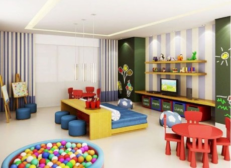 Children's Playroom Decor Enjoyable And Memorable 06