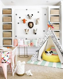 Children's Playroom Decor Enjoyable And Memorable 20