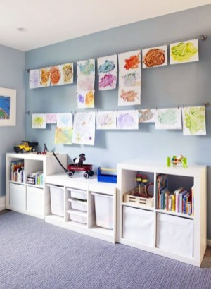 Children's Playroom Decor Enjoyable And Memorable 26