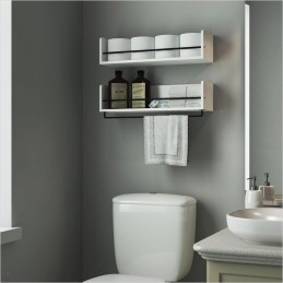 DIY Floating Shelves Bathroom Decor You Must Have 02