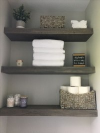DIY Floating Shelves Bathroom Decor You Must Have 22