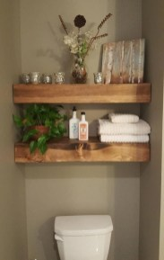 DIY Floating Shelves Bathroom Decor You Must Have 29
