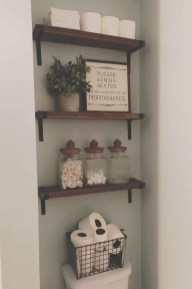 DIY Floating Shelves Bathroom Decor You Must Have 30