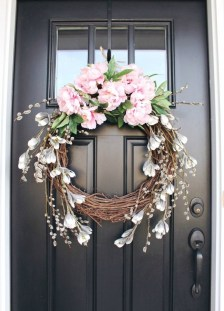 DIY Simple Spring Wreath For Your Door 24