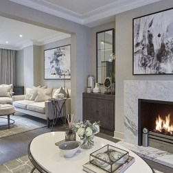 Elegant Living Room Decor You Can Try 37