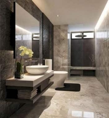 Elegant Modern Bathroom Design For Luxury Style 08