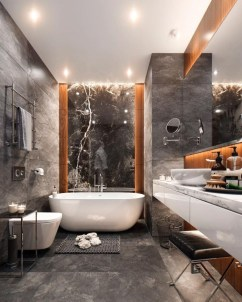 Elegant Modern Bathroom Design For Luxury Style 10
