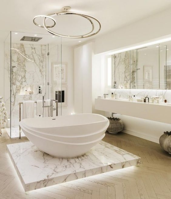 Elegant Modern Bathroom Design For Luxury Style 32