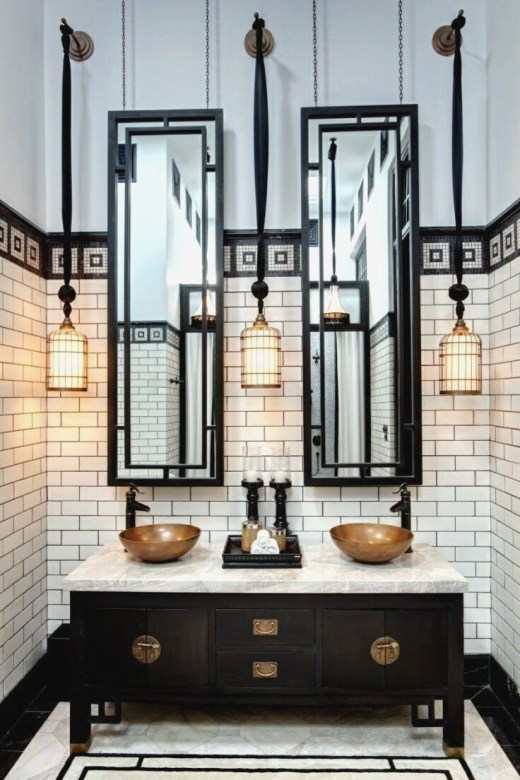 Elegant Modern Bathroom Design For Luxury Style 33