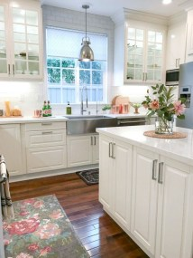 Genius Farmhouse Kitchen Decoration To Be Inspire 11