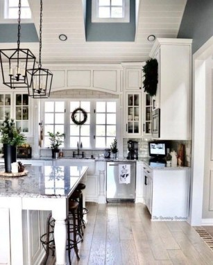 Genius Farmhouse Kitchen Decoration To Be Inspire 18