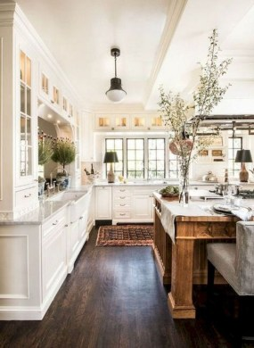 Genius Farmhouse Kitchen Decoration To Be Inspire 24
