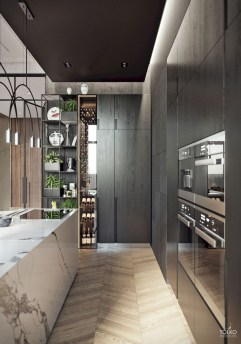 Great Inspiring Modern Kitchen Decoration You'll Love 05
