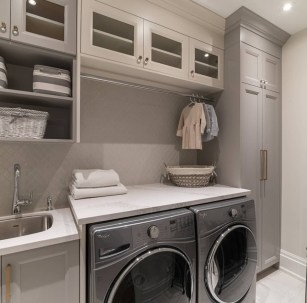 Incredible Storage Ideas For Your Small Laundry Room 01