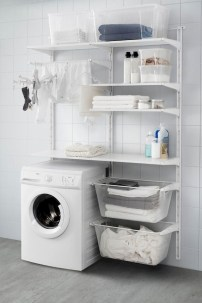 Incredible Storage Ideas For Your Small Laundry Room 05
