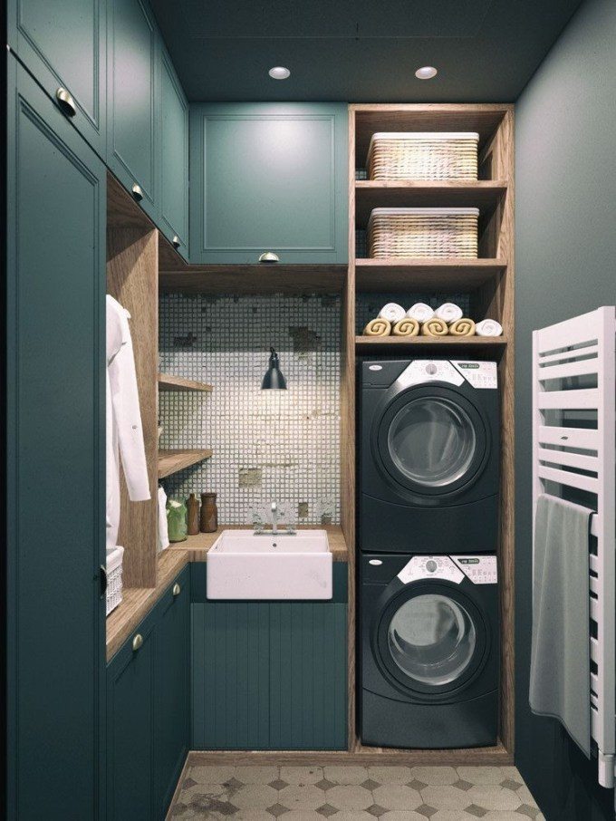 Incredible Storage Ideas For Your Small Laundry Room 08