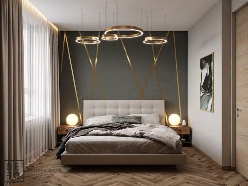 Lovely Modern Apartment Decoration For Couple 11