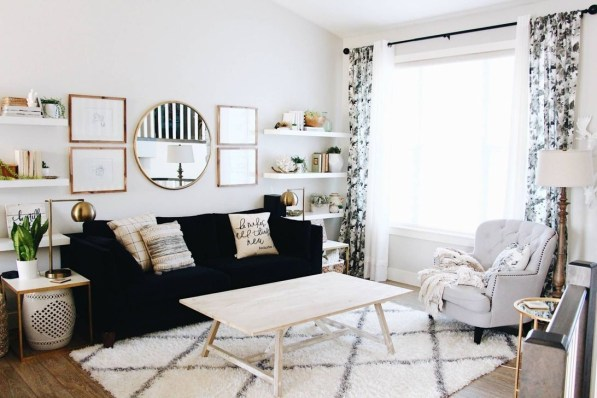 Lovely Modern Apartment Decoration For Couple 37