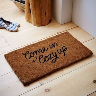 Tips Home Looks Unique With A Doormat Of Vinyl 25