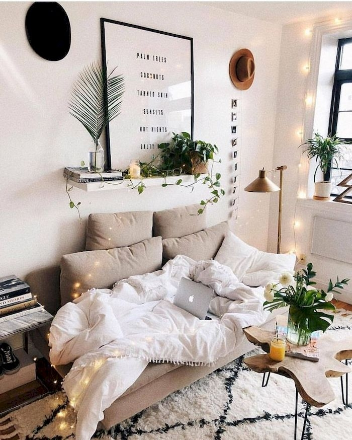 Amazing Small Living Room Decor Idea For Your First Apartment 14