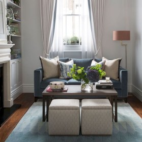 Amazing Small Living Room Decor Idea For Your First Apartment 16