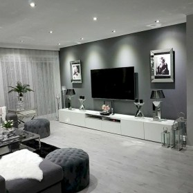 Amazing Small Living Room Decor Idea For Your First Apartment 17