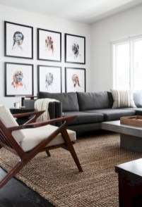 Amazing Small Living Room Decor Idea For Your First Apartment 18