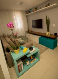 Amazing Small Living Room Decor Idea For Your First Apartment 25