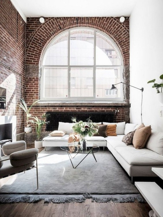 Amazing Small Living Room Decor Idea For Your First Apartment 33