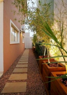 Fresh And Beautiful Side Yard Decoration You Must Have 03