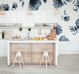 The Beautiful Botanical Wallpapers For Your Outdoor Kitchen Wall 14