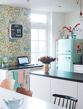 The Beautiful Botanical Wallpapers For Your Outdoor Kitchen Wall 25