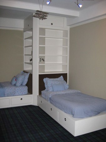 Amazing Double Bed For Teen College Bedroom 17