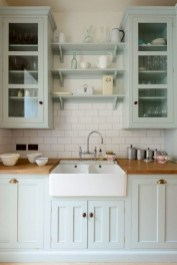 Best DIY Farmhouse Kitchen Decorating Ideasl 21