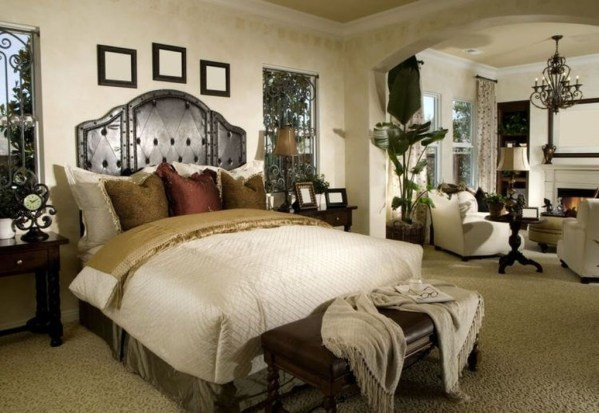 Elegant Furniture Idea For Master Bedroom 11