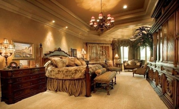 Elegant Furniture Idea For Master Bedroom 35