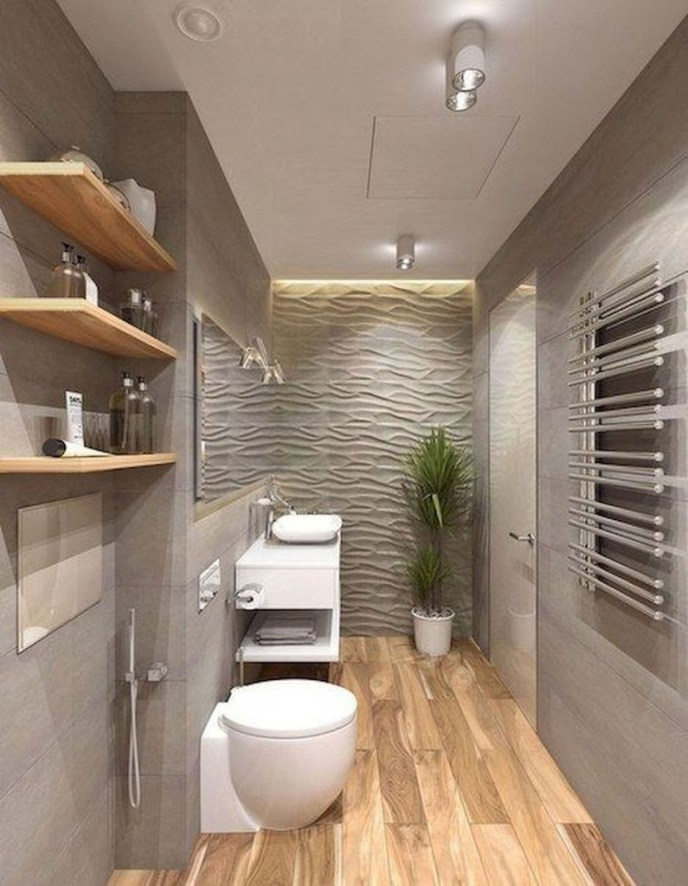 Gorgeous Small Master Bathroom Remodel Ideas 26