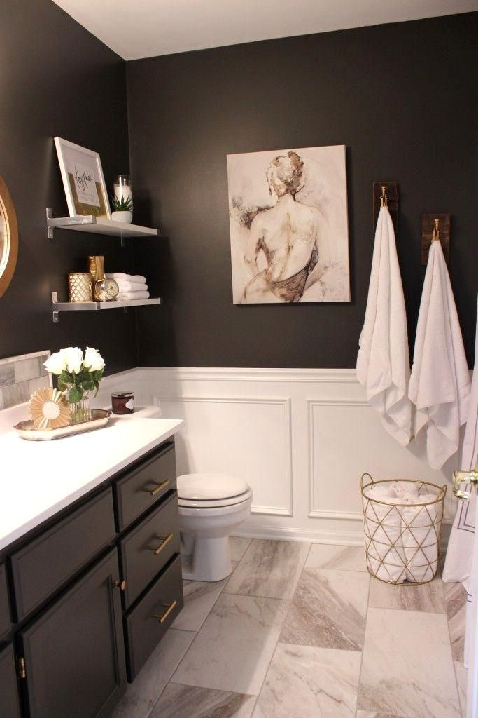Gorgeous Small Master Bathroom Remodel Ideas 40